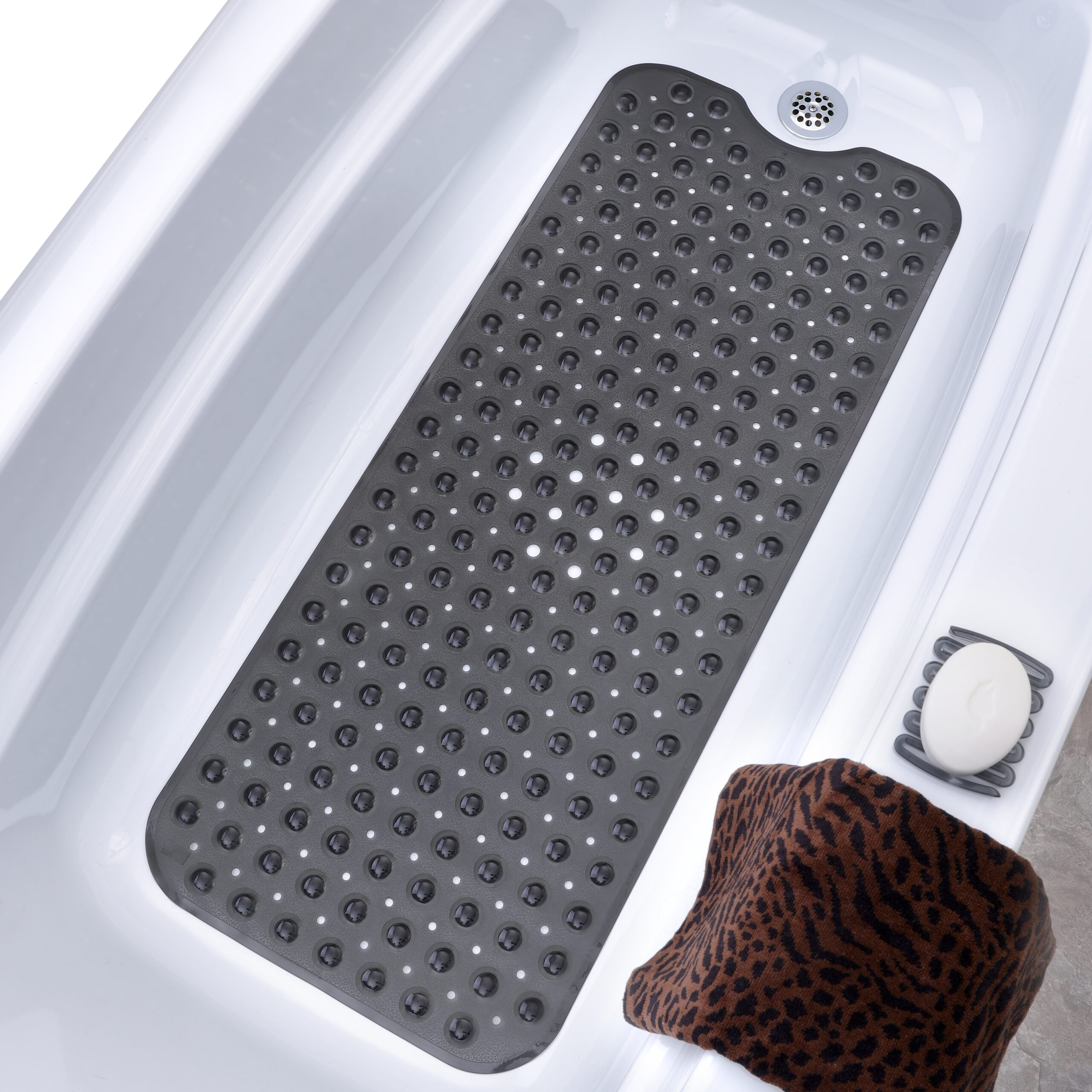 Extra Long Bath Mats Large Non Slip Tub Shower Mats Slipx Solutions