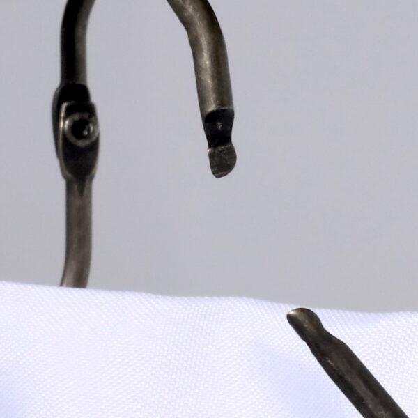 Easy Roller Oil Rubber Bronze Shower Ring - Open