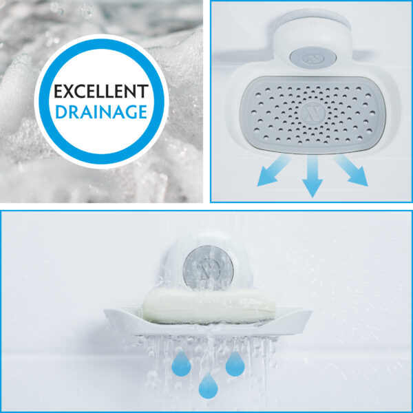 suction soap saver drains water